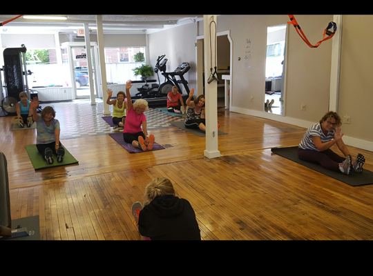 Foxy Ladies Fitness Class—50+ never looked or felt so good!