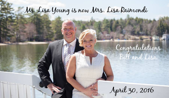 Bill and Lisa gets married
