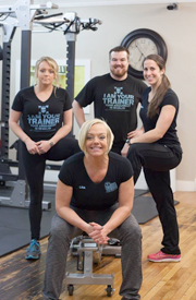 The trainers at Lisa's Personal Training Studio