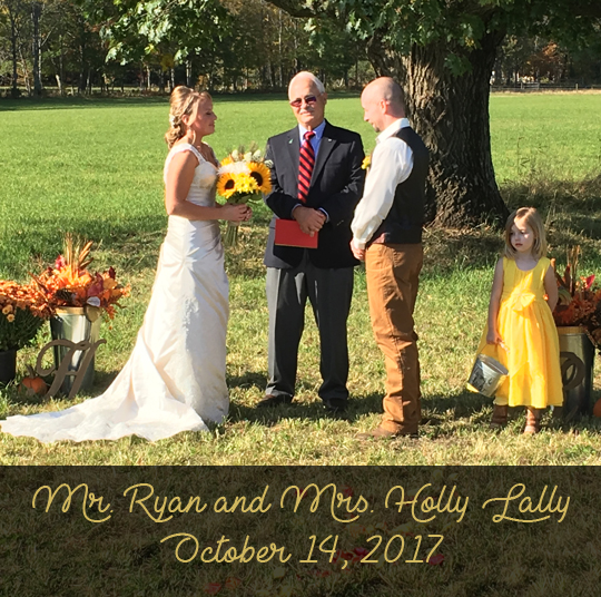 Mr. Ryan and Mrs. Holly Lally