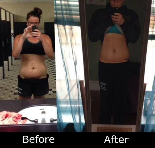 Another success story at Lisa's Personal Training
